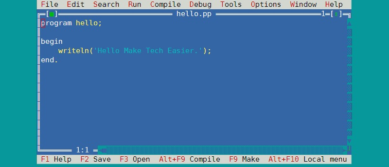 Writing Pascal Programs on a Raspberry Pi Using FPC