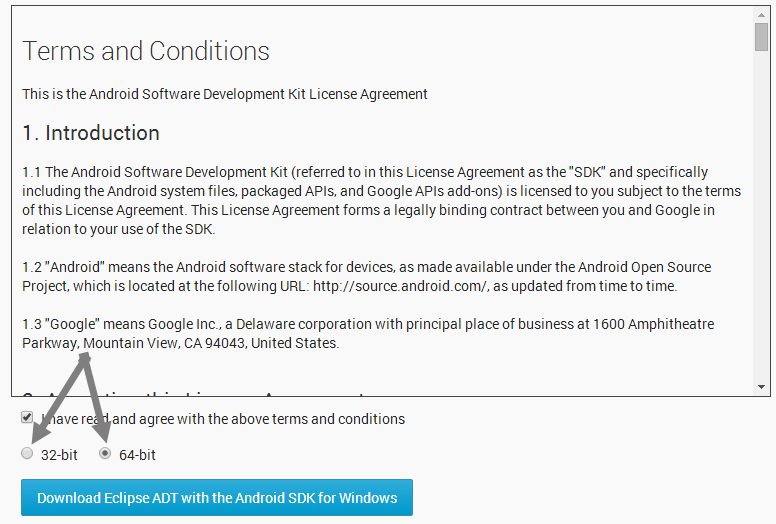 install-android-sdk-terms-and-conditions