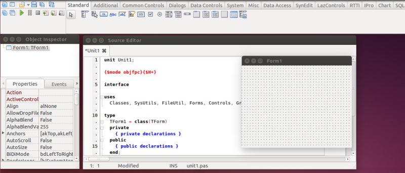 Write Cross-Platform Desktop Applications on Linux Using Lazarus