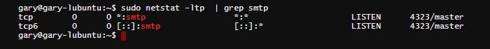 netstat-ltp-grep-smtp