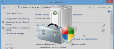 Manually Start and Stop Automatic Maintenance in Windows 8