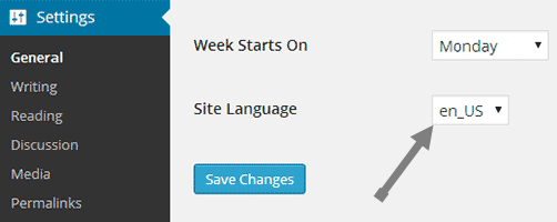 wordpress-4-0-beta-language-settings