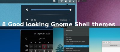 8 Good-looking Gnome Shell Themes