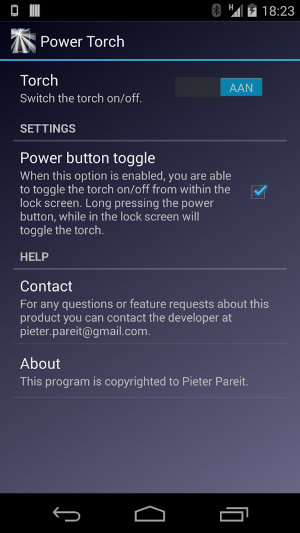 AndroidFlashlight-Power-Torch