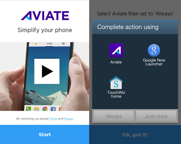 Aviate-homelauncher
