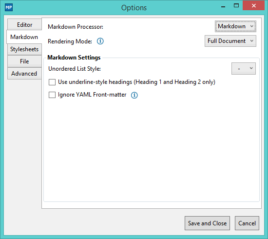 MarkdownWin-MarkdownPad-Settings1