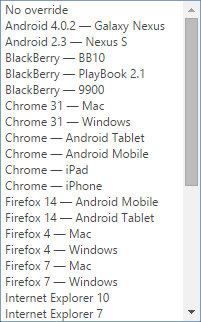 UserAgent-Chrome-Choices