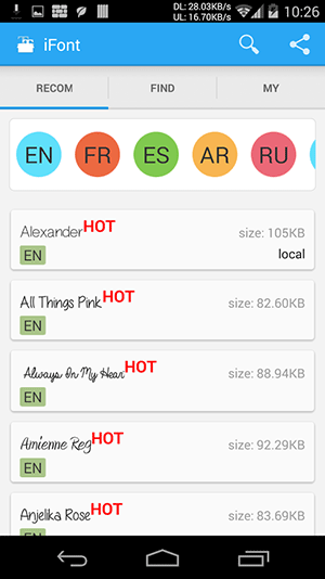 androidfonts-ifont