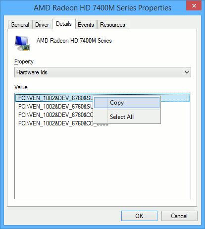 find-drivers-windows-copy-hardware-id