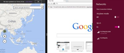 How to Run Desktop and Native Apps Simultaneously on Windows 8