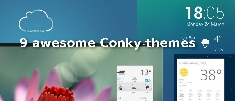 9 Awesome Conky Themes - Make Tech Easier