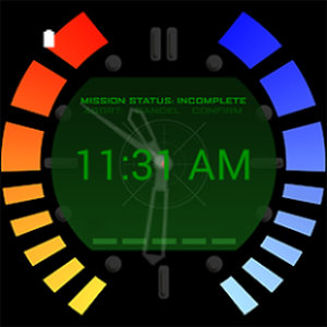 AndroidWearWatchFaces-Secret-Agent