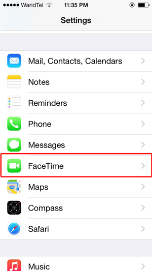 Continuity-Facetime