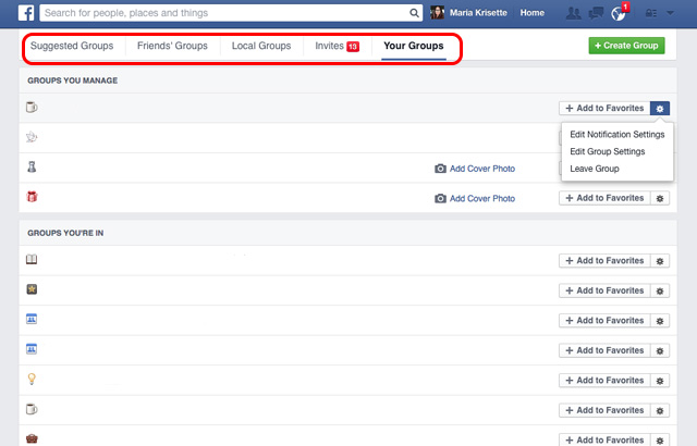Facebooktips-managegroups