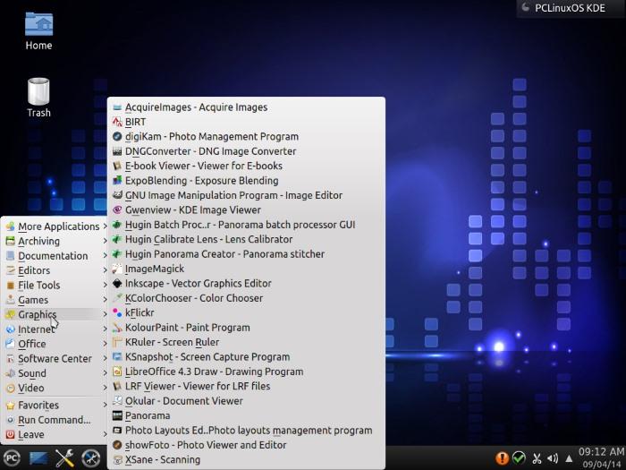 PCLinuxOS-desktop