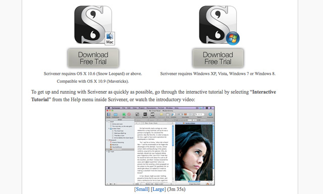 Scrivener-download