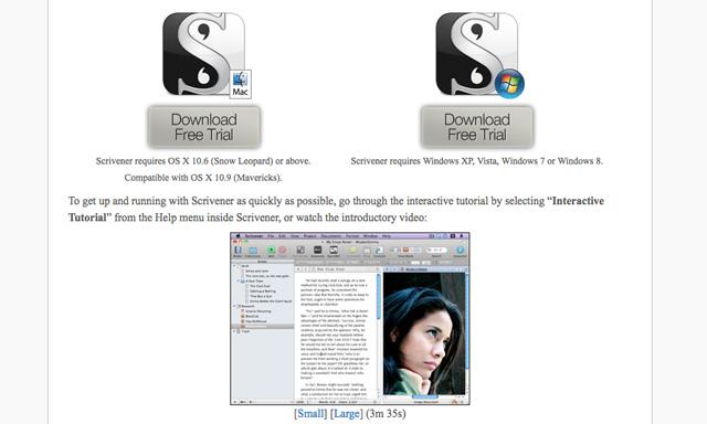 Scrivener-download