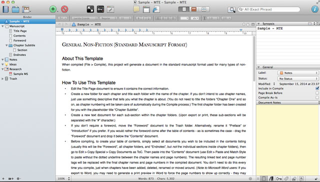 Scrivener-generalnonfiction
