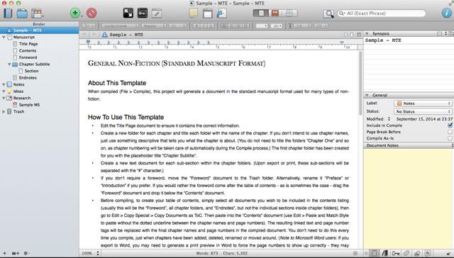 Scrivener-generalnonfiction
