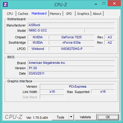 SpecID-CPUZ-MainScreen