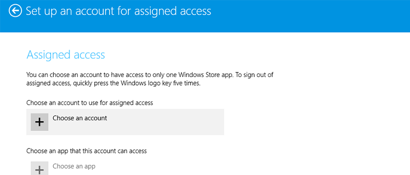 How To Enable Kiosk Mode in Windows 8