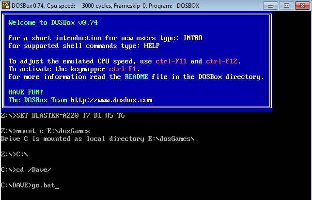 How to Install and Play Old DOS Games in Windows - Make Tech