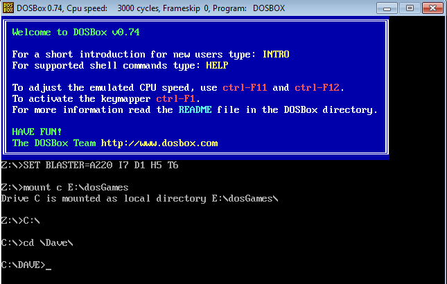 dos-games-in-windows-game-folder