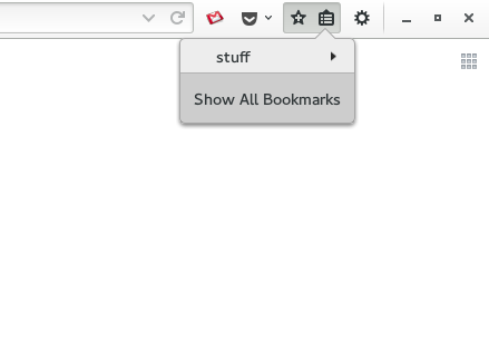 gnome3-firefox-intergration-simple-bookmarks-menu-showbookmarks