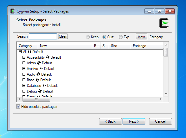 install-cygwin-packages