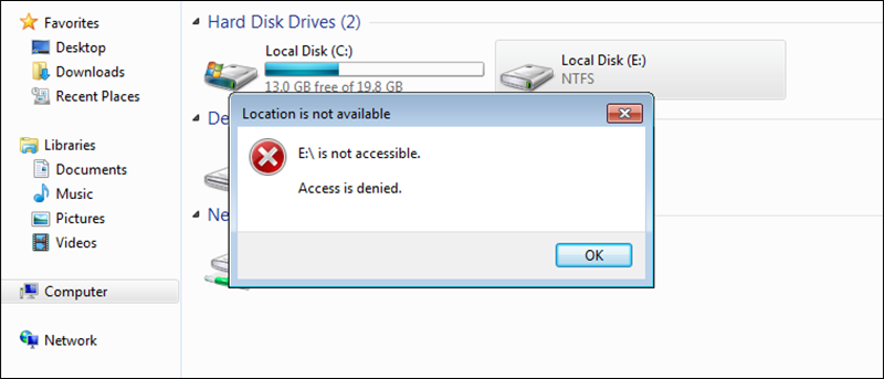 How to Block Users From Accessing NTFS Partitions in Windows