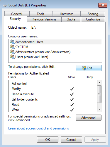 restrict-access-to-partition-security-tab