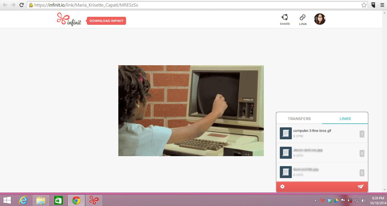 Inifnit-sharelink