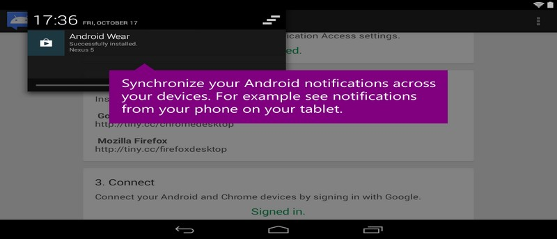 Synchronize Android notifications across devices with Desktop Notifications App