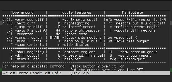 diff-tools-ediff