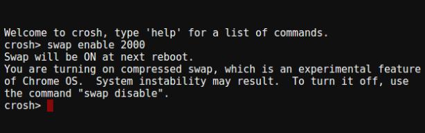 How to Create Swap on a Chromebook - Make Tech Easier