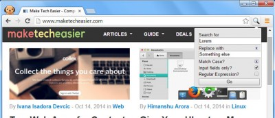 How to Find and Replace Text in Google Chrome and Firefox