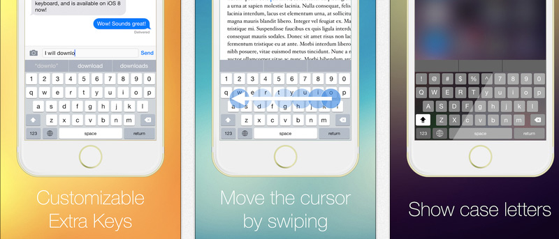 How to Add an Extra Row of Customizable Keys to Your iOS 8 Device