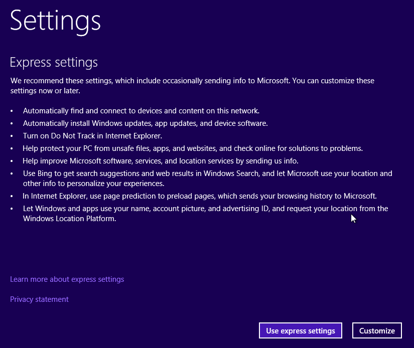 windows-10-tech-preview-express-settings