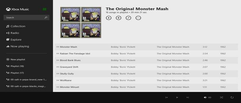 The Original Monster Mash Playlist