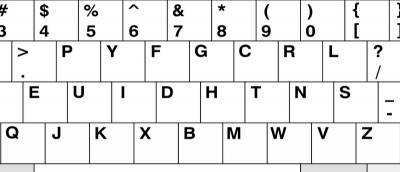 Remapping Keyboards to DVORAK and COLEMAK in Windows