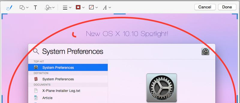 How To Use Markup in OS X Yosemite