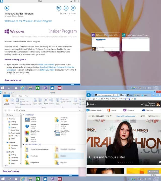Windows10-snapassist