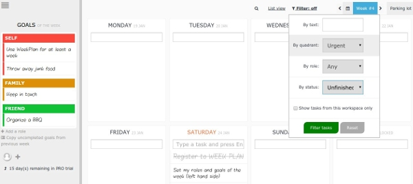 chrome-productivity-weekplan