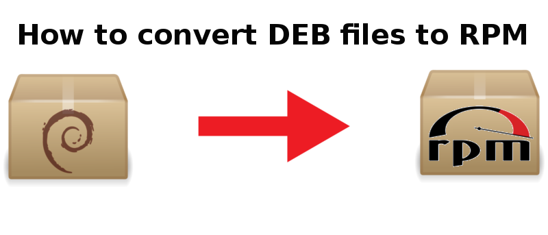 How to Convert DEB Files to RPM