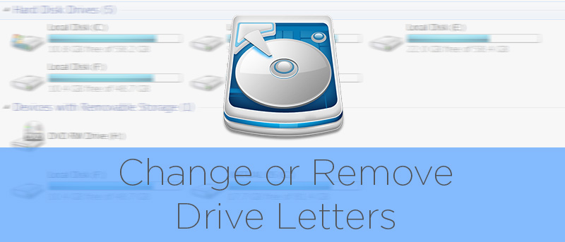 Assign a drive letter