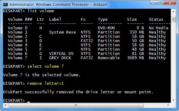 diskpart-remove-letter