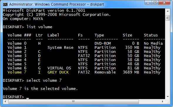 diskpart-select-volume