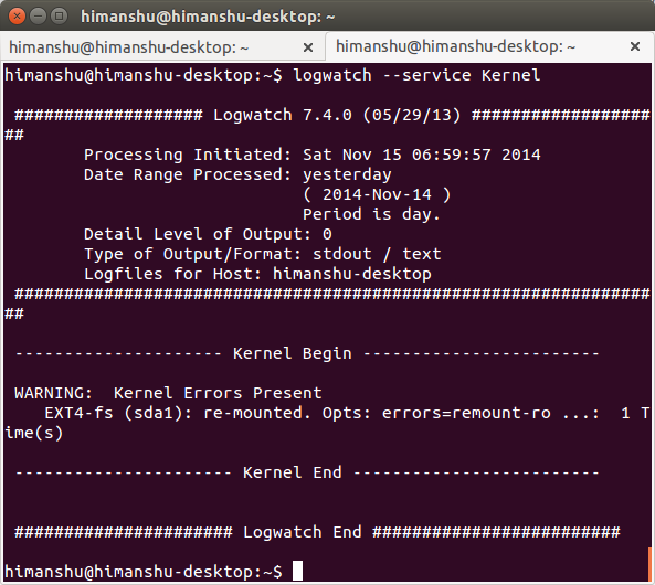 logwatch-kernel