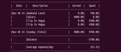 Pem: Manage Your Personal Expenses from the Command Line