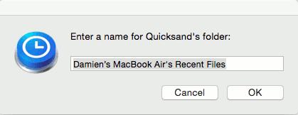 quicksand-folder-name